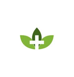 tree medical logo vector image