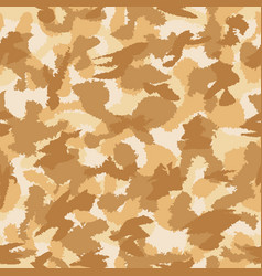 War desert camouflage seamless pattern can be vector
