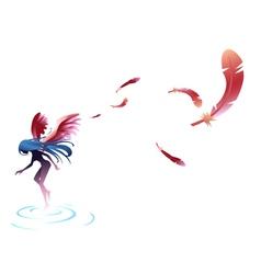 Angel Fairy vector image vector image