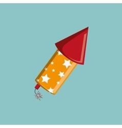 Firework icon design vector image vector image
