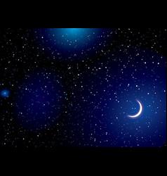 stella space landscape vector image