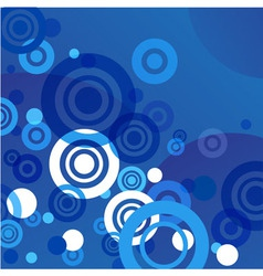 bstract circle background for cards vector image