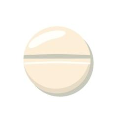 Pill icon cartoon style vector image
