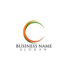 - technology circle logo and symbols vector