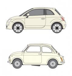 Fiats 500 vector