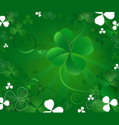 Magic clover vector