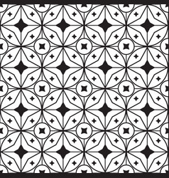 Star geometric pattern seamless vector