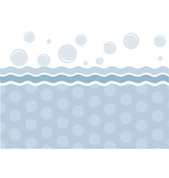 Template design for greeting card vector image vector image