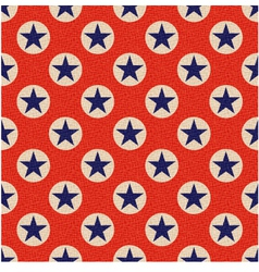seamless usa stars background vector image vector image