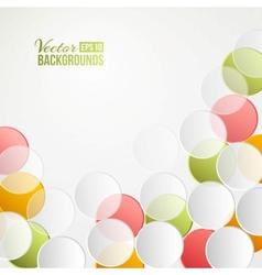 Confetti backdrop vector image
