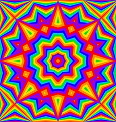 Kaleidoscope bright rainbow background vector