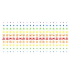 Atom shape halftone spectral grid vector
