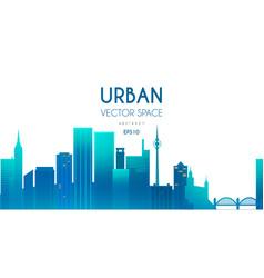 City background urban cityscape vector