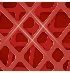 Crossed Lines Abstract Red Cover Background vector