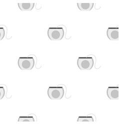 dental floss pattern seamless vector image