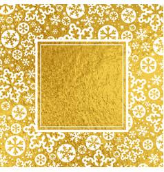 golden luxury christmas background vector image