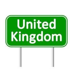 Great britain road sign vector