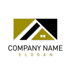 home business logotype vector image