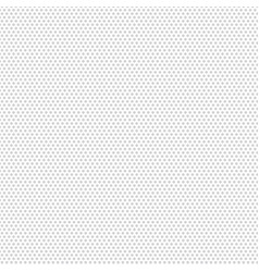 polka dot gray pattern texture on white background vector image