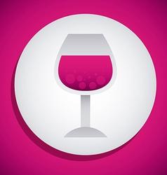 Wine design vector