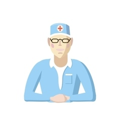 Doctor icon cartoon style vector image vector image