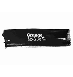 Grunge brush stroke background stripe vector image vector image