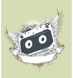 grunge tape vector image vector image