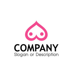 logo for sex shop vector image