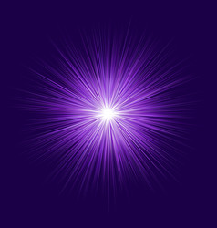 abstract purple blast design on dark background vector image