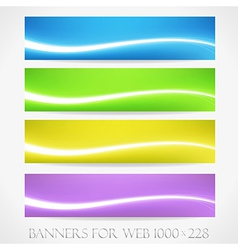 Banners for web collection11 vector image
