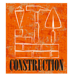 construction and repair banner vector image