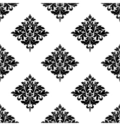 Diamond shaped seamless arabesque pattern vector