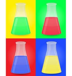 glass tube 07 vector image