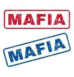 Mafia Rubber Stamps vector