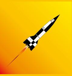 V2 rocket launch vector