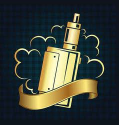 Vape shop symbol vector