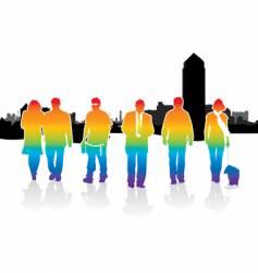 walkers london background vector image