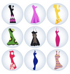 woman dress vector image vector image