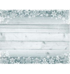 Wooden grey christmas background vector