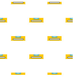 Yellow working tool bubble level pattern seamless vector