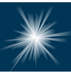 sun ray background vector image vector image