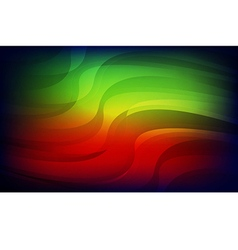 Abstract light red green blue background vector