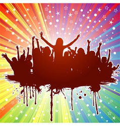 party theme vector image vector image