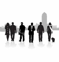 walkers london background vector image vector image