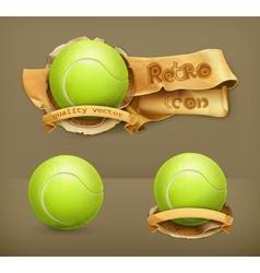 Tennis-ball icon vector image