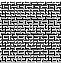 The maze labyrinth pattern vector image