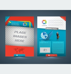 Abstract business concept Brochure Flyer design vector