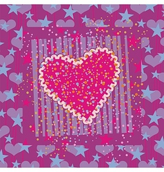 Abstract Valentines Background vector image