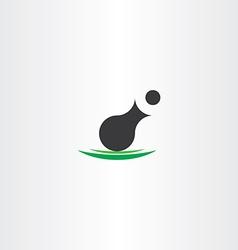 cannon icon symbol design vector image