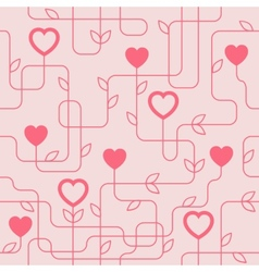 Creative Valentines Day Seamles Pattern vector